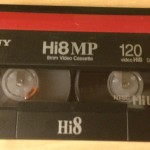 Old SONY Hi8 8mm Video Cassette