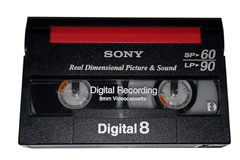 SONY Digital8 Recording Tape